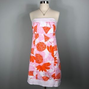 Lilly Pulitzer | Strapless Umbrella Flower Dress